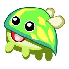 Chlora's green coloring allows it to hide in the grass and surprise you with hugs when captured.    Play now>>> www.m.tylted.com