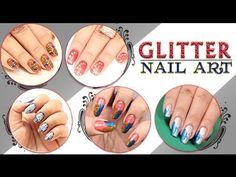 Glitter Nail Art Series http://www.youtube.com/watch?v=y7Pu2PYR4PQ=1