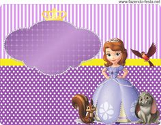 free printable princess sofia party invitations - Recherche Google