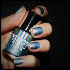 hologram nail polish!!