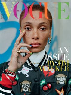 nice Karen, Edie, Kate, Jamie, Anna, Erin & Christina cover Vogue's Italia December issue by Tim Walker [covers]