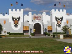 Medieval Times in Myrtle Beach, South Carolina Great Places, Places Ive Been, Rv Campgrounds, Medieval Times, Myrtle, Vacation Ideas, Beautiful Beaches, South Carolina, Places To Visit