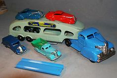 ANTIQUE/VINTAGE TOY TRUCK, MARX, AUTO TRANSPORT, ART DECO CARS AND TRUCKS, SUPER
