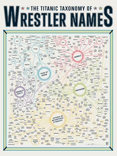 Wrestler Names infographic