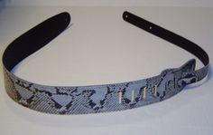 Natural Python Snakeskin Guitar Strap by Murroexotics on Etsy, $159.00