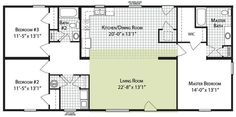 Simple Floor Plans On Pinterest Granny Flat Plans Small