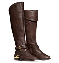 mark. Go For A Ride #Boots - The essential riding boot gets reinvented with special details to make it even more…#essential! Not only can the shaft be worn pulled up over the knee or folded over, but metal accents also offer a Midas touch. Faux  - Shop now at http://krislingsch.avonrepresentative.com/