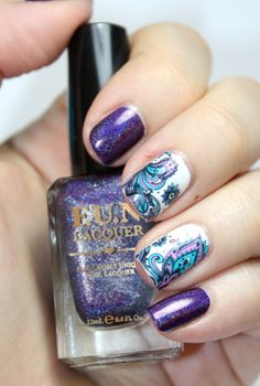 Playing with polish: F.U.N. Lacquer - Evening Gown