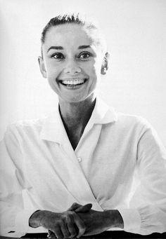 audrey smile 1959 Audrey Style by Rare Audrey Hepburn, via Flickr