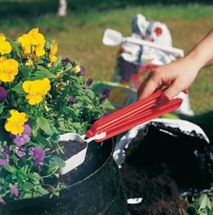 Perfect to use for flower soil.