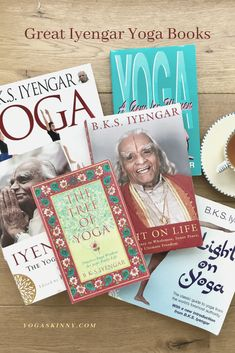 Whether you are an Iyengar yogi or not there are a number of Iyengar yoga books you need on your bookshelf. Take a look at this selection of Iyengar books authored by Iyengar's and others and set yourself up for some yoga learning Ashtanga Yoga, Vinyasa Yoga, Light On Yoga, Become A Yoga Instructor, Bks Iyengar, Restorative Yoga Poses, Yoga Master, Yoga Books, Yoga Philosophy