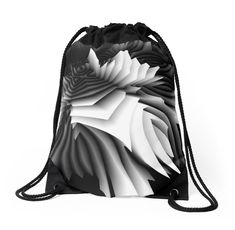 Drawstring Bags by dahleea Drawstring Bags, Chiffon Tops, Backpacks, 3d, Stuff To Buy, Women's Backpack, Backpack, Backpacker, Satchel