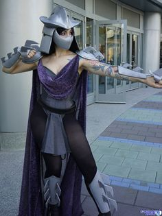 the comic book update shredder cosplay rule 63