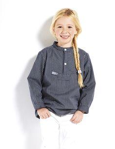 Finkenwerder Fischerhemd für Mädchen