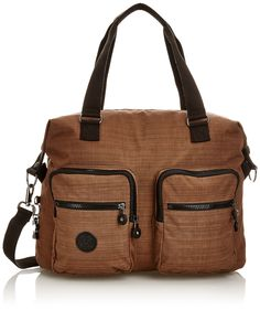 Kipling Womens Erasto N Large Shoulder Bag Dazz Brown Kipling Bags, Large Shoulder Bags, Girls Bags, Wallet, Purses, Shoe Bag, My Style, Brown, Shopping