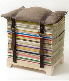 Put those old magazines to good use.