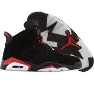Air Jordan 6 VI Retro (black / varsity red) - Shoes - 384665-061   PickYourShoes.com - Pickyourshoes