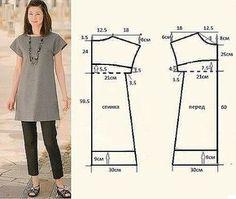 8 Patrones para hacer vestidos y blusas - Ideas de Manualidades