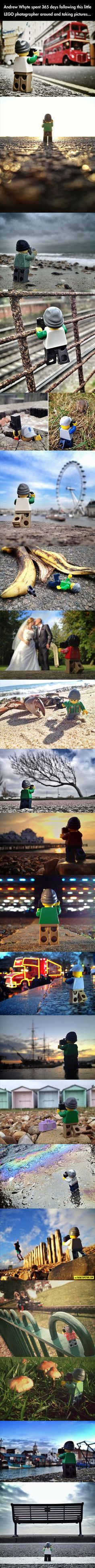 LEGO Photographer Travels The World
