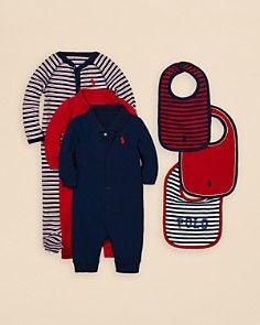 Ralph Lauren Childrenswear Infant Boys' Little All-Star Gift Set - Sizes 3-9 Months
