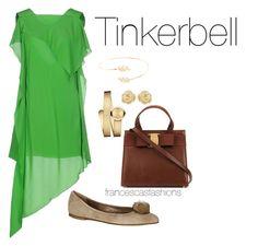 """Tinkerbell"" by msfrancescaaloe on Polyvore featuring Accessorize, Acne Studios, Movado, Effy Jewelry, Dee Keller, women's clothing, women's fashion, women, female and woman"