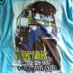 Sweet shirt Jenny P got me featuring the Tuk Tuk!