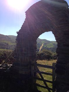 Through the archway and beyond....