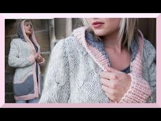 JACKE CARDIGAN STRICKEN ANLEITUNG FRÜHLING 2016  We are Knitters  - YouTube