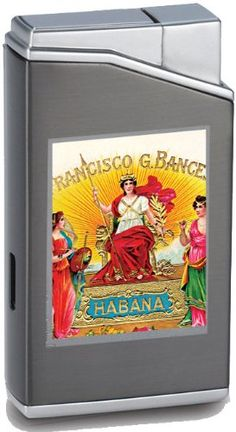 Lotus Cuban Vista Collection Habana Gunmetal Lighter -- Check out the image by visiting the link.
