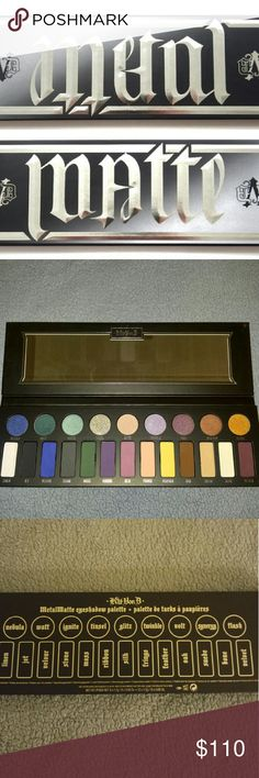 Kat Von D Metal Matte Palette Brand new in box. Limited edition, sold out everywhere. Sephora Makeup Eyeshadow