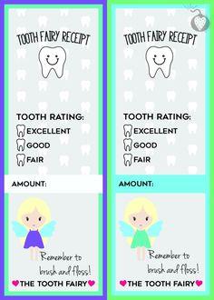 free printable tooth fairy receipts