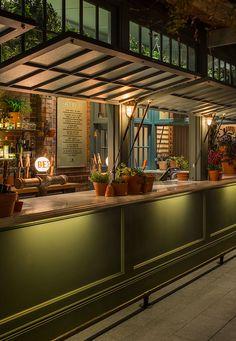 The Potting Shed, Acme & co Pub Design, Coffee Shop Design, House Design, Food Court Design, Pub Interior, Restaurant Interior Design, Restaurant Furniture, Cafe Bar, Bar Deco