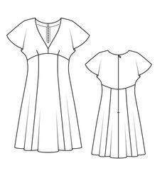 Платье - выкройка № 131 из журнала 3/2013 Burda – выкройки платьев на Burdastyle.ru