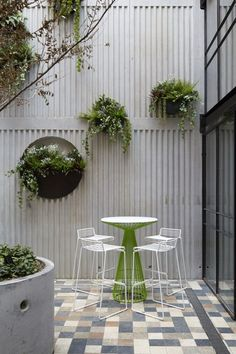 Patio. #LoveNature..... ditto for this pation, just buy the plain concrete blocks and stain in different colors of choice!