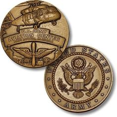 U s Army Aviation Center Fort Rucker Alabama Usaace Challenge Coin Fort Rucker Alabama, Aviation Center, Coin Collecting Books, Aviation Careers, Military Challenge Coins, Aviation Training, Army Base, Military Insignia, Coin Values