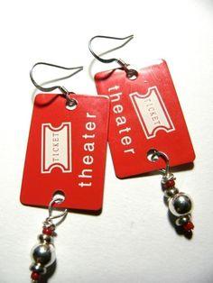 Movie earrings