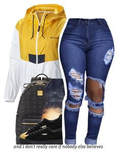 """10.23.16"" by trinityannetrinity ❤ liked on Polyvore featuring Columbia, MCM and Puma"