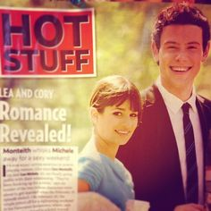 Lea Michele & Cory Monteith romance first revealed :(