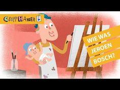 Leerzame en leuke filmpjes van 1 minuut van Schooltv.nl (NTR). Onze Clipphangers worden gemaakt door: Tekst en voice-over: Michiel Eijsbouts Animatoren: Stud... Art Education, Great Artists, Art For Kids, Museum, Cool Stuff, School, Was, Fictional Characters, Paintings
