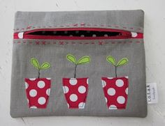 s.o.t.a.k handmade: Pretty little pouch swap and more pouches