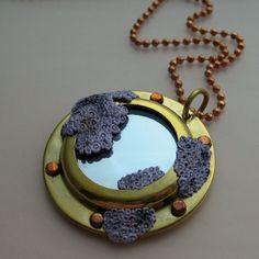 Barnacles Porthole Necklace by NanukDesigns on Etsy