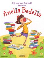 Activities and printables for Young Amelia Bedelia books....