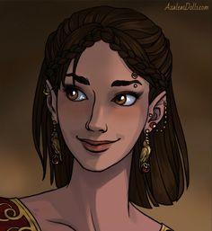 Varric and Cassandra's daughter