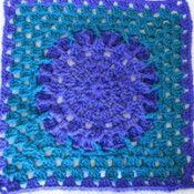 Amethyst Square -  stitch & unwind website