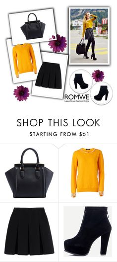 """""""Romwe 5/VII"""" by nermina-okanovic ❤ liked on Polyvore featuring Alexander Wang and romwe"""