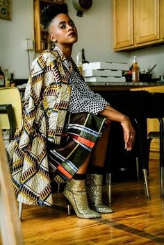 Funky Contemporary African fashion