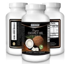 Grab 'em while supplies lasts: CKLBRANDS Organic Virgin Coconut Oil Supplement - 3000 mg - Great pills for Weight Loss, Healthy Hair Growth, Dry Skin, and Dogs - Unrefined Natural & Cold Pressed softgels