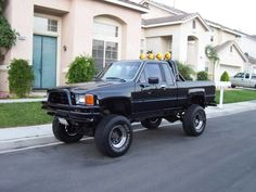 1985 Toyota 4x4: Blame the movie Back To The Future for this one, but I have always found these trucks to be awesome!