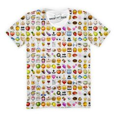 Rock every #emoji on this #outrageous tee
