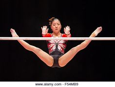 Glasgow, Scotland. 27th Oct, 2015. FIG Artistic Gymnastics World Championships. Day Five. Asuka TERAMOTO (JPN) performs - Stock Image